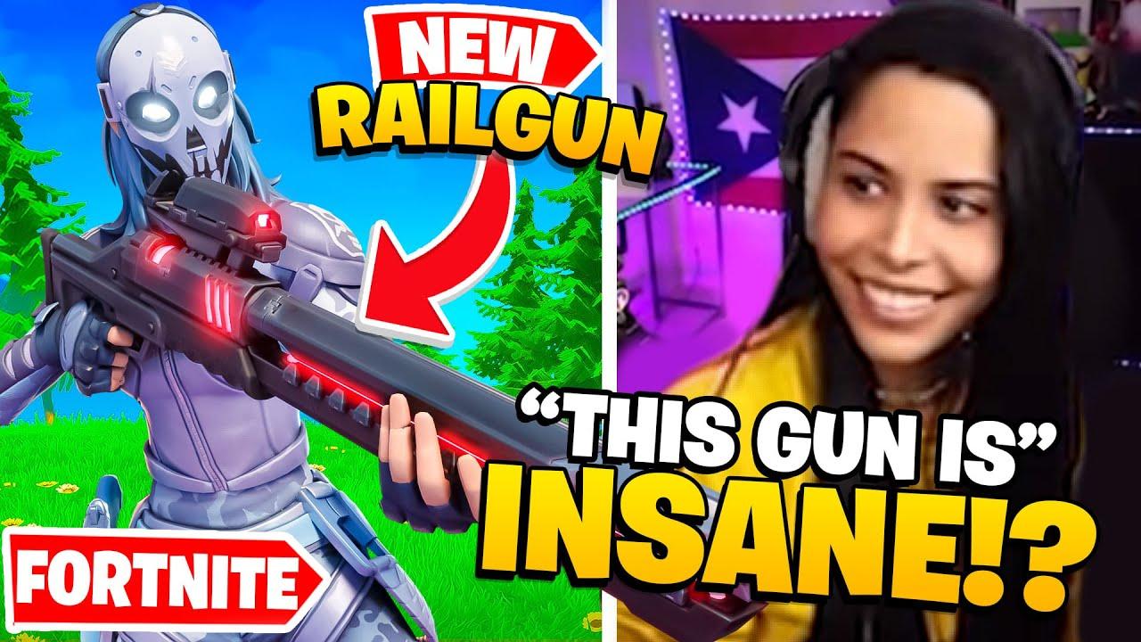 The *NEW* Rail Gun Is Broken ??? - Chica