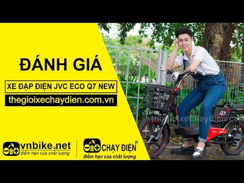Đánh giá xe đạp điện JVC eco Q7 New