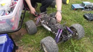 Harthill Savage Bashing - BMX Track Jumps - SavFlow Fuel System