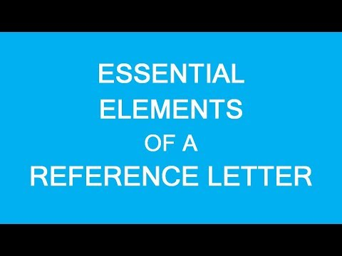 Reference Letters For Immigration To Canada: Essential Elements