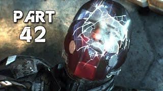 Batman Arkham Knight Walkthrough Gameplay Part 42 - Under the Red Hood (PS4)