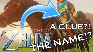 Zelda Wii U HINTED IT