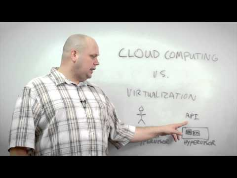 Differences Between Cloud Computing and Virtualization
