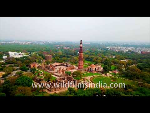 Qutub Minar complex, Jamali Kamali and the tombs of Iltutmish and Khilji, as seen aerially in Delhi from YouTube · Duration:  2 minutes 13 seconds