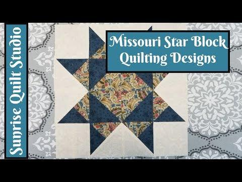 Missouri Star Block Quilting Designs