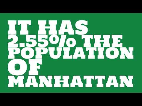 How does the population of Fond du Lac, WI compare to Manhattan?