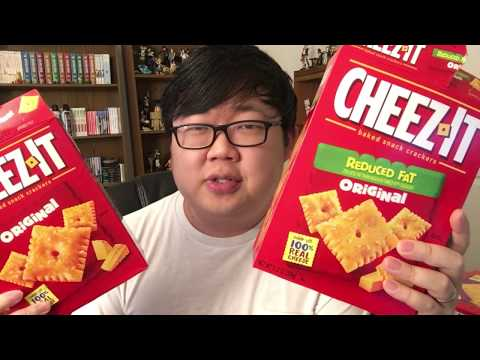 Let's Try 15 DIFFERENT CHEEZ-ITS