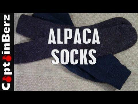 Alpaca Socks (Creekwater)