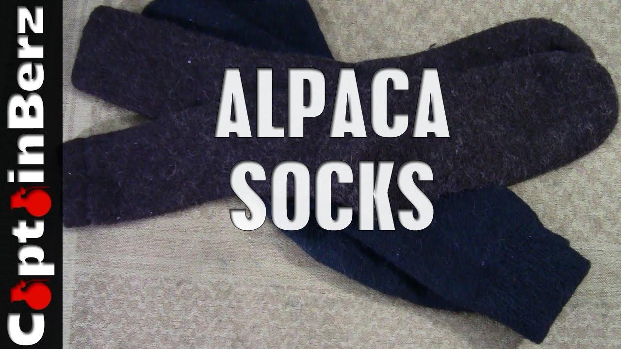 alpaca socks creekwater