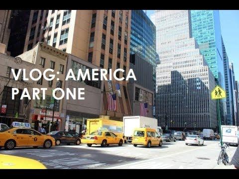 VLOG: America Part One (New York & Las Vegas) | Fayesfix