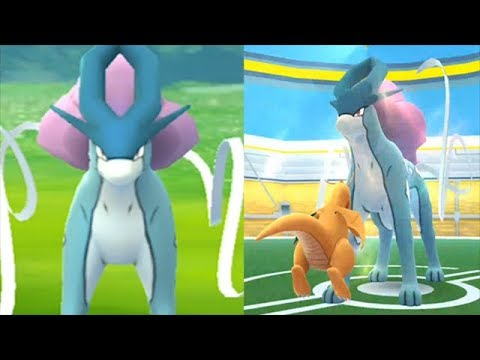 35699324 POKEMON GO CATCHING SUICUNE! WIN OR FAIL?