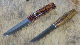 По типу ENZO и TOMMY - два разных ножа и одинаково хорошее впечатление…