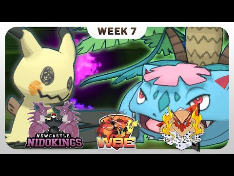#BATTLEOFTHEBRITS - Newcastle Nidokings VS Bristol City Blazikens - Pokémon Sun & Moon [WBE S1W7]