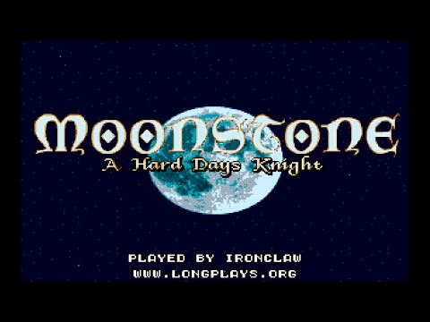 Amiga 500 Longplay [002] Moonstone: A Hard Days Knight