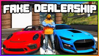 GTA 5 Roleplay - I MADE A FAKE DEALERSHIP | RedlineRP