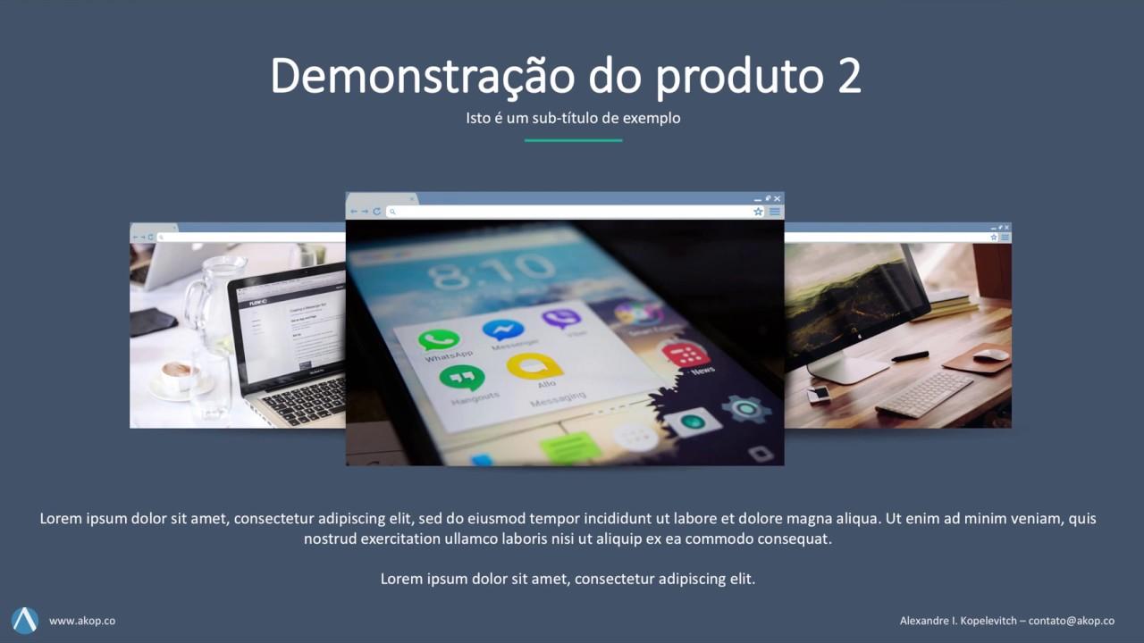 modelo de apresentação comercial power point 20 slides download