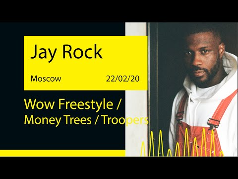 Jay Rock - Wow Freestyle / Money Trees / Troopers (Adrenaline Stadium '20@Moscow)
