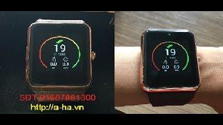 Đồng hồ thông minh QW08 có Wifi/3G - TenFifteen QW08