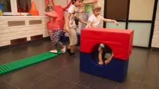 Детская аэробика для детей от 3 до 5 лет. Дом Чудес - семейный клуб.
