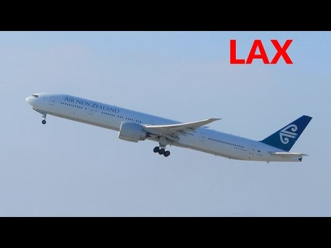 HEAVY Planespotting at Los Angeles LAX Airport: A380, 777, 787, A340, 767 & more! [Full HD]