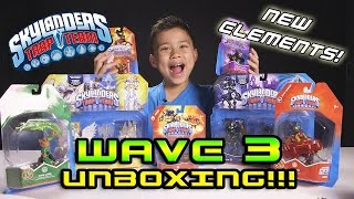 Skylanders TRAP TEAM WAVE 3 MEGA Unboxing - NEW Light & Dark Elements!