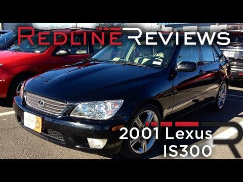 2001 Lexus IS300 Review, Walkaround, Exhaust, Test Drive