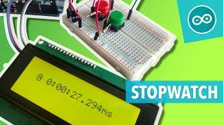 Leer een Arduino stopwatch maken