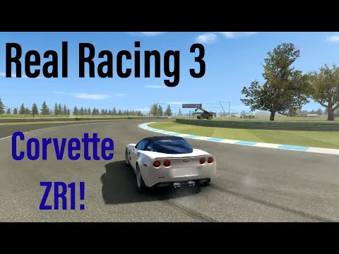 Real Racing 3: Chevrolet Corvette ZR1 At Indy: Elimination Round