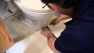 IVC Installation Tips  #2 - Cutting Around Toilet