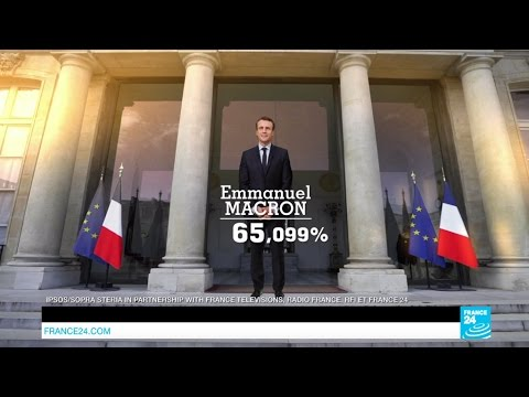 As it happened: Emmanuel Macron wins French presidential election