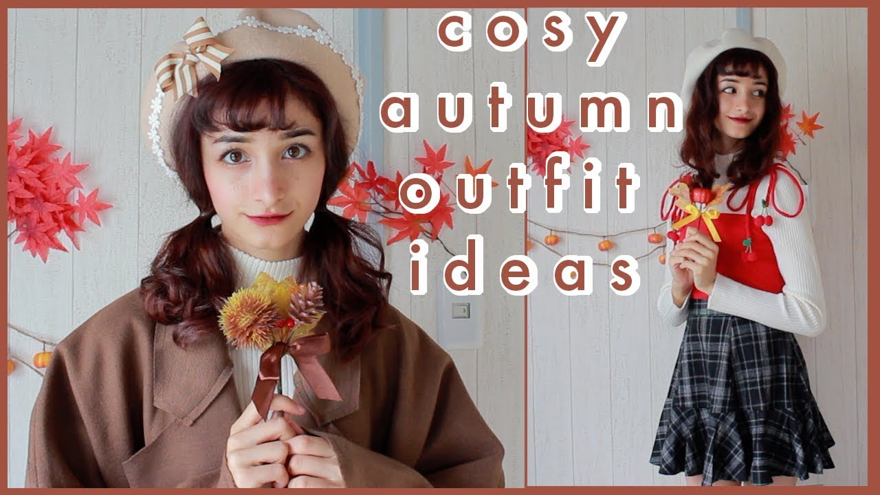 [VIDEO] - ?Transition Into Autumn Cute & Cozy Outfit Ideas ?|| Unzzy Store 2