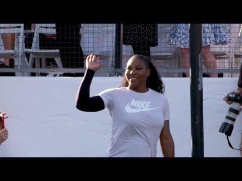 Serena shines at Desert Smash | 2018 Indian Wells