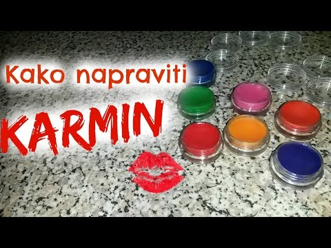 DIY : Kako napraviti karmin od vostanih bojica