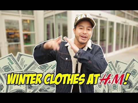 $100 OUTFIT CHALLENGE AT H&M! WHAT DO THEY HAVE?