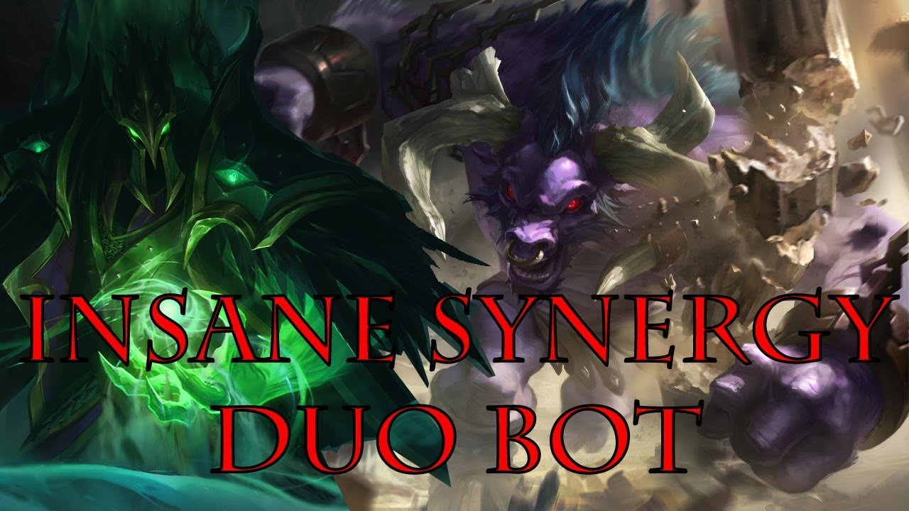 SWAIN ALISTAR DUO BOT | THE COMBO IS INSANE | OP SYNERGY | LEAGUE OF LEGENDS