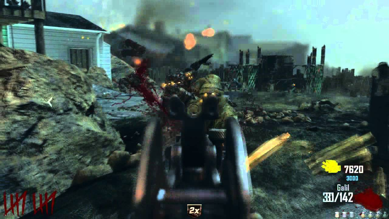 how to get nuketown zombies on black ops 1