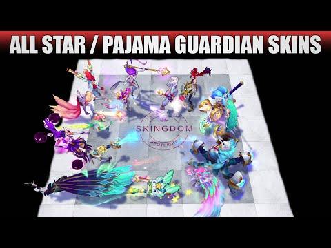 All Star Guardian Skins Spotlight 2020 - Star Guardian & Pajama Guardian (League of Legends)