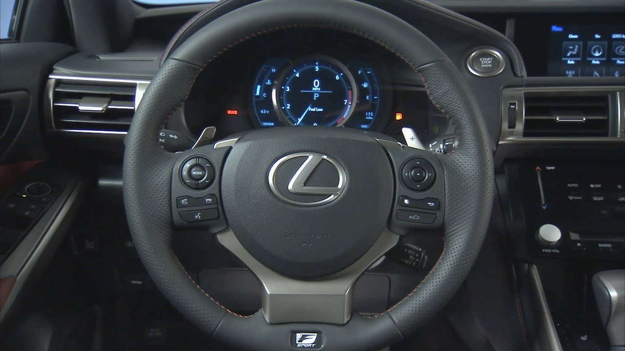 2014 Lexus IS 350 F Sport   INTERIOR   YouTube