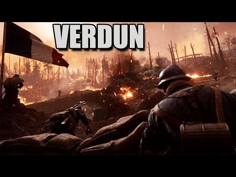 VERDUN HEIGHTS Huge Siege Howitzer!  Battlefield 1 They Shall Not Pass DLC Gameplay