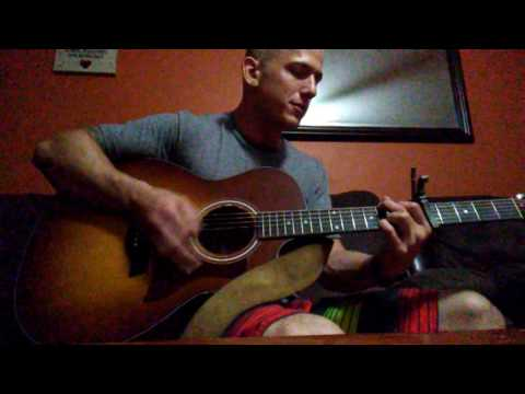 Eric Church- Give Me Back My Hometown (cover by adam)