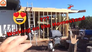 Homestead Update -  🚜 Construction on the Room is on going