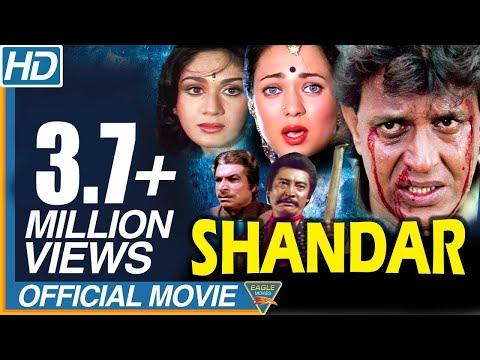 Shandaar 1990 Hindi Full Movie    Mithun Chakraborty, Mandakini, Meenakshi Seshadri, Juhi Chawla