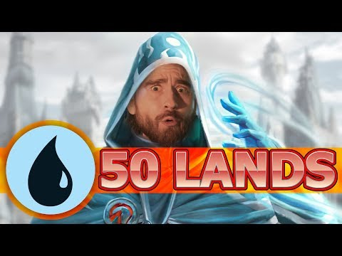 Anthologies Breaks The Game!? Mono Blue Land Control Historic MTG Arena