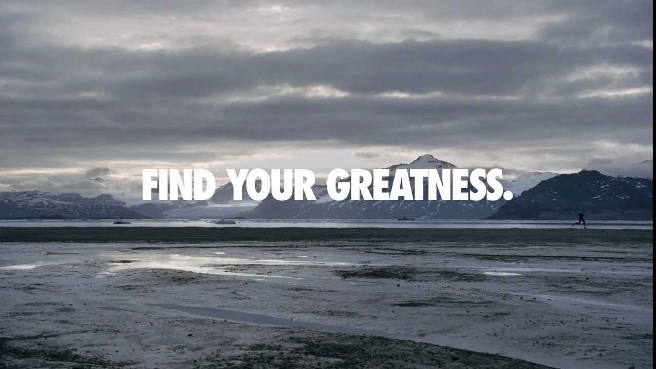 Casa conservador Noche  Nike - Find your greatness - ultrarunner - YouTube