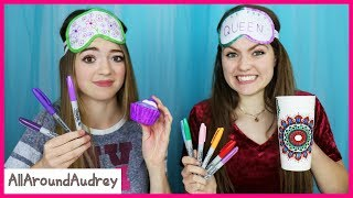 3 Color Marker Craft Challenge / AllAroundAudrey