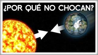 Si el Sol y la Tierra se Atraen, ¿Por qué No Chocan?