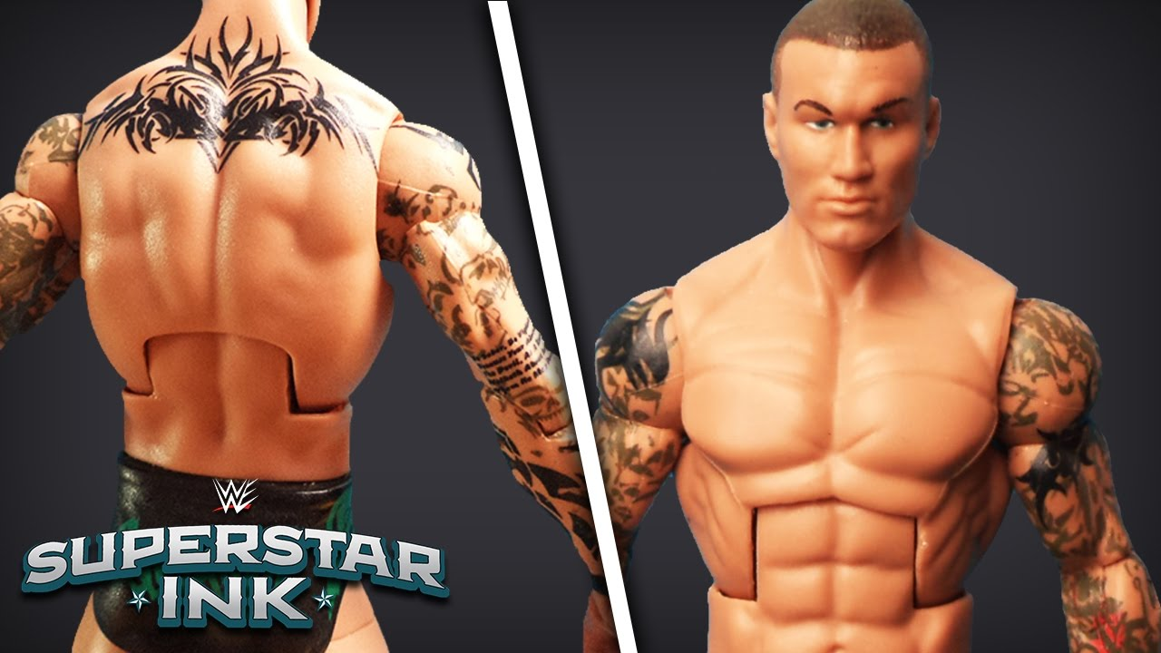 Randy Orton Tattoos Photos