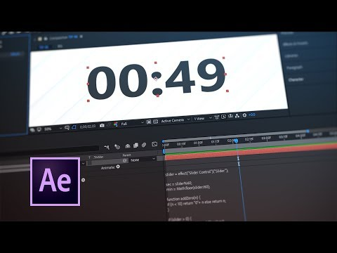 Tip 48 - How To Create a Custom Clock in After Effects