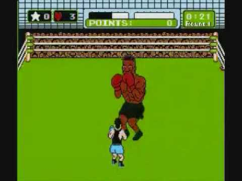 Little mac vs Mike Tyson in Punch Out Nes - YouTube