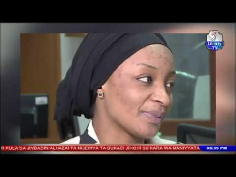 Labaran Rahama Sadau da Hausa film Mansoor   Wakilan Liberty 8th July, 2017